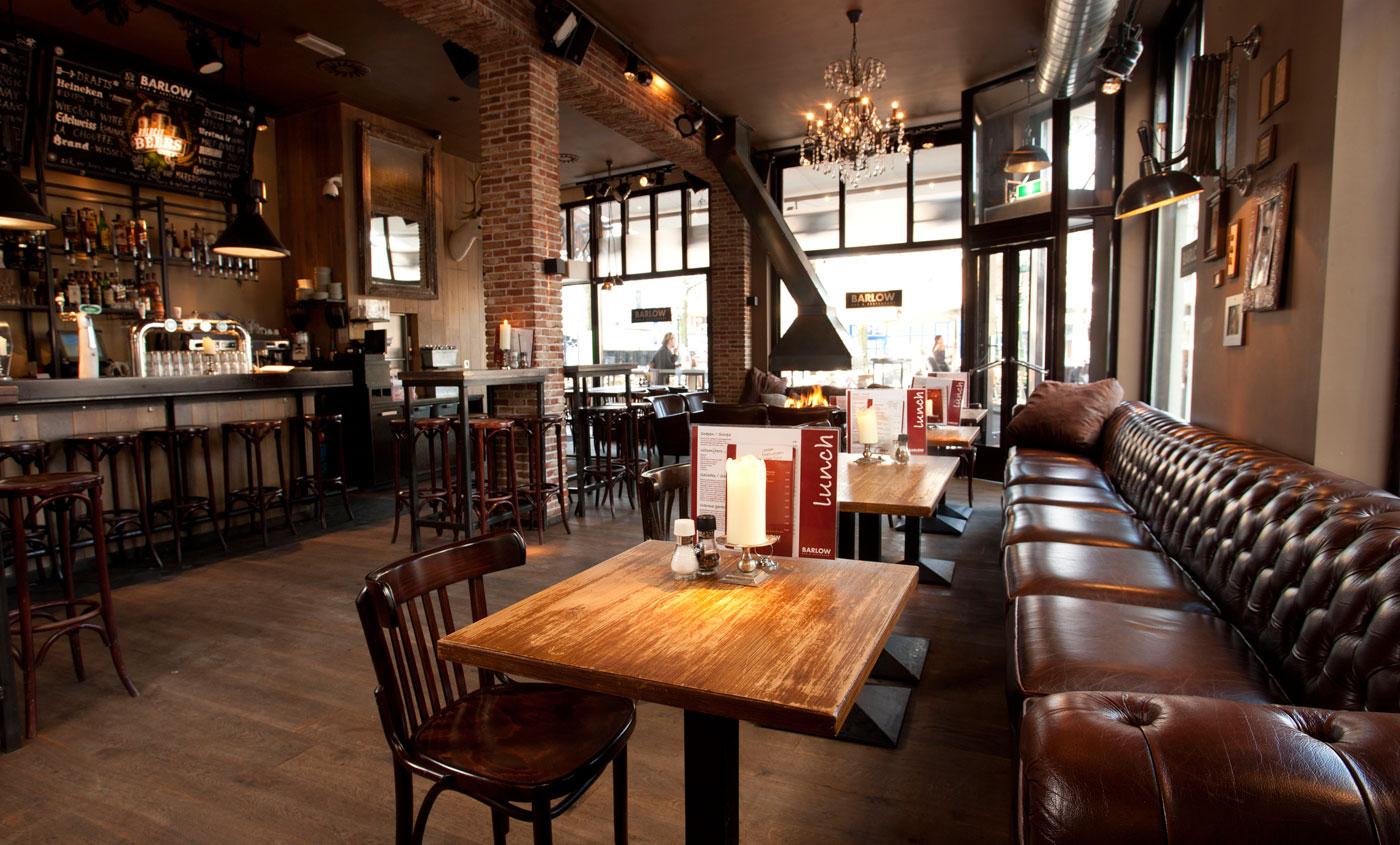 Barlow den haag bar restaurant cafe sfeer for Den haag restaurant